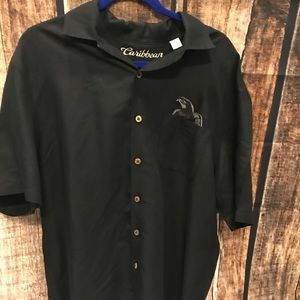 Caribbean Large Embroidered Bad Polly Shirt